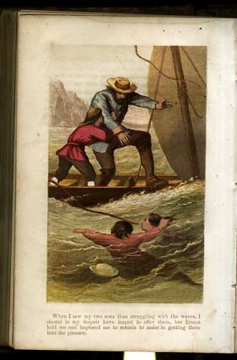 Image for THE SWISS FAMILY ROBINSON OR ADVENTURES IN A DESERT ISLAND Six Color Engravings on Steel