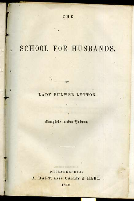 "Image for THE SCHOOL FOR HUSBANDS (OR MOLIE`RE'S LIFE AND TIMES.)  ""Complete in One Volume"""