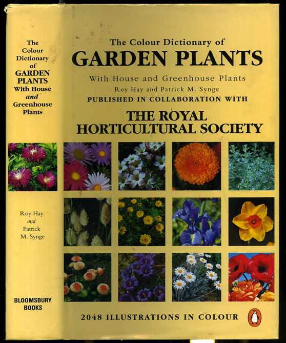 Image for COLOUR (COLOR) DICTIONARY OF GARDEN PLANTS, THE WITH HOUSE AND GREENHOUSE PLANTS