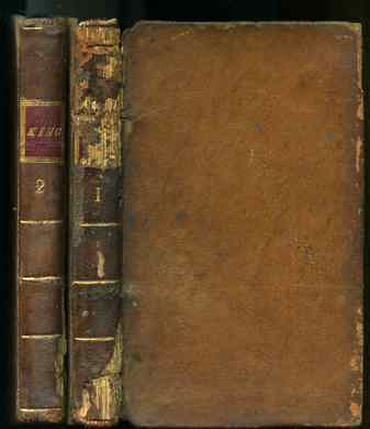 Image for THE POETICAL WORKS OF WILLIAM KING WITH THE LIFE OF THE AUTHOR Complete in Two Volumes