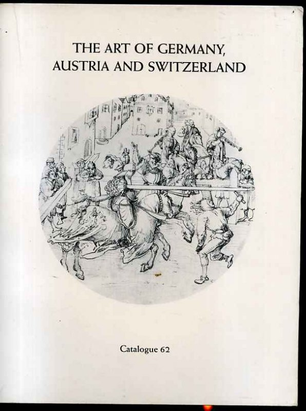 Image for THE ART OF GERMANY, AUSTRIA AND SWITZERLAND, CATALOG 62