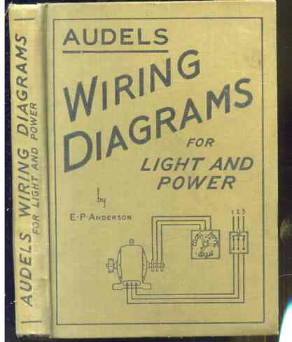 Image for AUDEL'S WIRING DIAGRAMS FOR LIGHT AND POWER