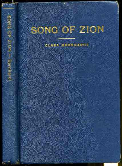 Image for SONG OF ZION,