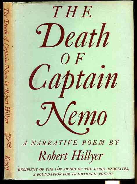 Image for THE DEATH OF CAPTAIN NEMO : A NARRATIVE POEM  (With Laid in Christmas Card from Author)