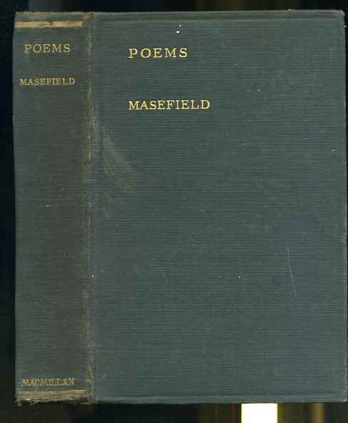 Image for POEMS BY JOHN MASEFIELD