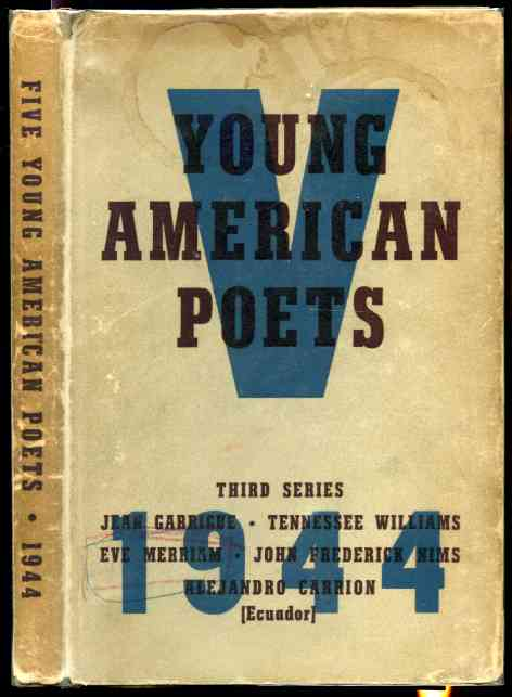Image for FIVE YOUNG AMERICAN POETS. Third Series; Association Copy