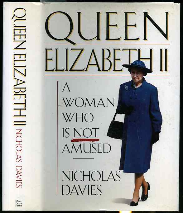Image for QUEEN ELIZABETH II: A WOMAN WHO IS NOT AMUSED