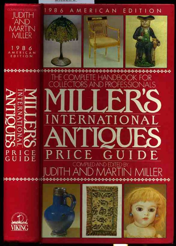 Image for MILLER'S INTERNATIONAL ANTIQUES PRICE GUIDE. 1986 AMERICAN EDITION