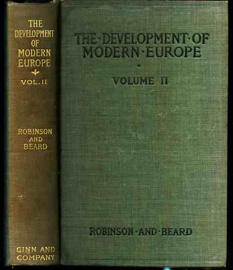 Image for THE DEVELOPMENT OF MODERN EUROPE VOLUME II