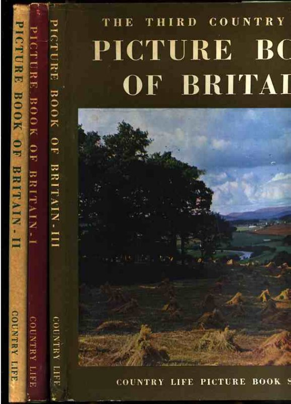 Image for COUNTRY LIFE PICTURE BOOK OF BRITAIN  (Three Volumes, Books 1, 2 and 3)
