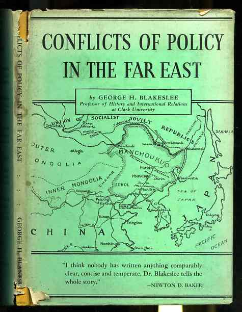 Image for CONFLICTS OF POLICY IN THE FAR EAST, WORLD AFFAIRS PAMPHLETS 6, 1934