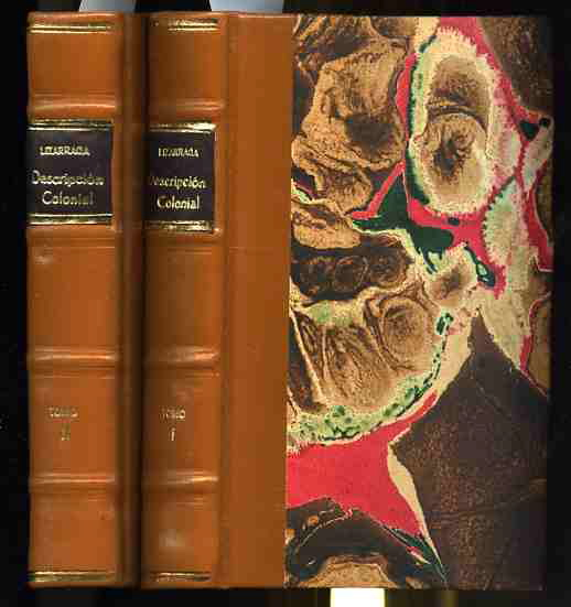 Image for DESCRIPCION COLONIAL  (Complete in 2 Volumes)