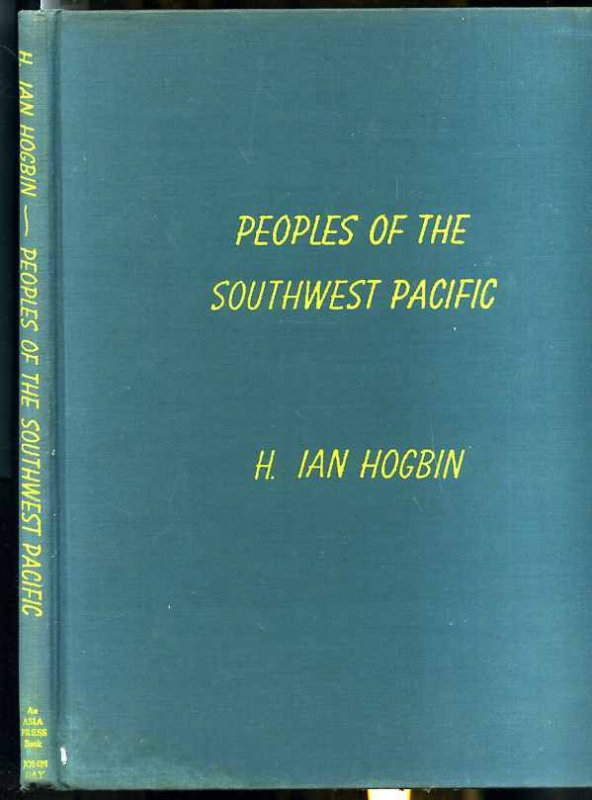 Image for THE PEOPLES OF THE SOUTHWEST PACIFIC