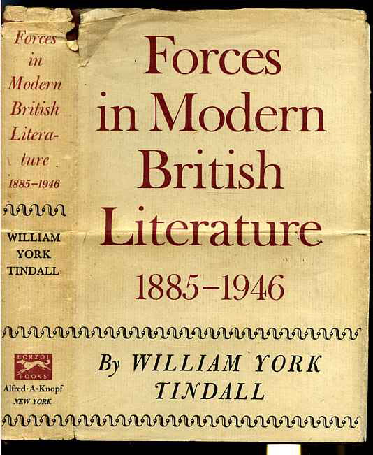 Image for FORCES IN MODERN BRITISH LITERATURE 1885-1946