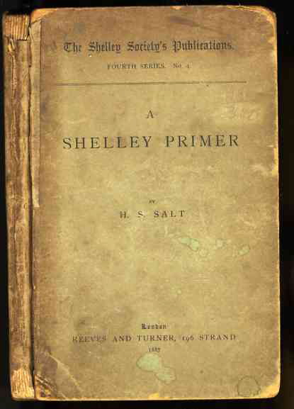 Image for A SHELLEY PRIMER.  (Percy Bysshe Shelley)