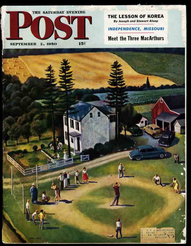 Image for THE SATURDAY EVENING POST SEPTEMBER 2, 1950 [LBC] (Lesson of Korea, Independence Missouri, Meet the Three MacArthurs)