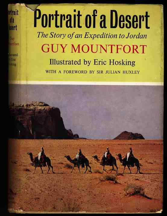 Image for PORTRAIT OF A DESERT; THE STORY OF AN EXPEDITION TO JORDAN (ARC)