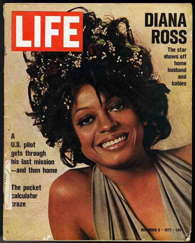Image for LIFE MAGAZINE December, 8, 1972 (DIANA ROSS COVER)