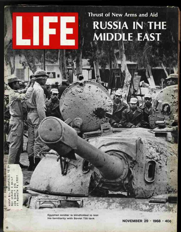 Image for LIFE MAGAZINE November 29 1968 Russia in the Middle East