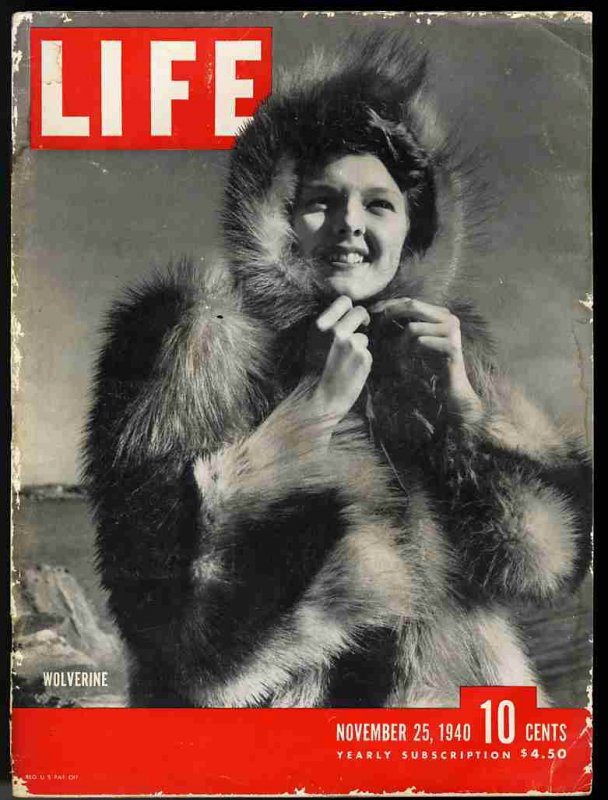 Image for LIFE MAGAZINE NOVEMBER 25 1940 Wolverine