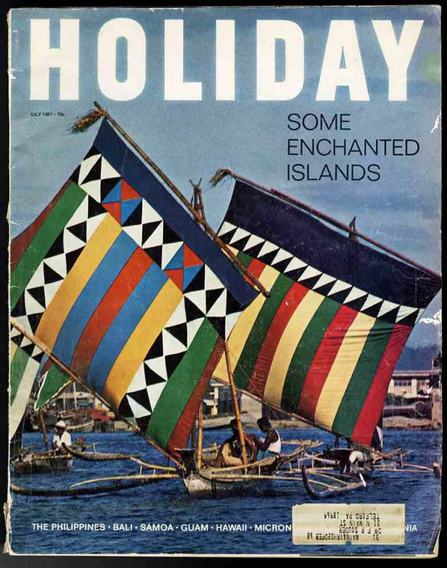 Image for HOLIDAY MAGAZINE July, 1967, some enchanted islands