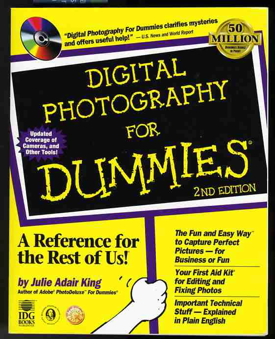 Image for DIGITAL PHOTOGRAPHY FOR DUMMIES 2nd Edition