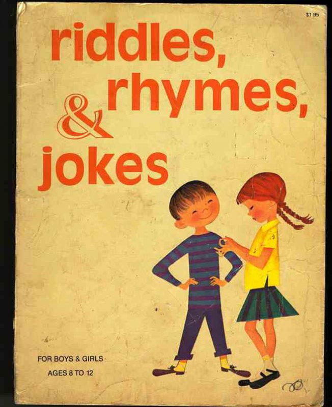 Image for RIDDLES RHYMES & JOKES For Boys and Girls 8 to 12