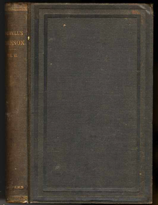 Image for THE LIFE OF SAMUEL JOHNSON, INCLUDING A JOURNAL OF A TOUR TO THE HEBRIDES (Vol II Only of 2)