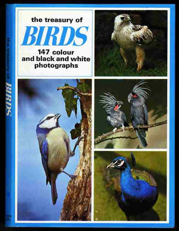 Image for TREASURY OF BIRDS : 147 COLOUR AND BLACK AND WHITE PHOTOGRAPHS