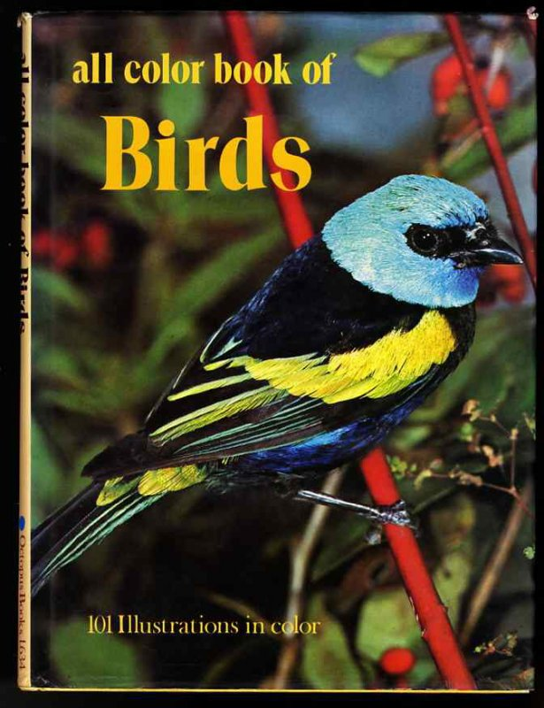 Image for ALL COLOR BOOK OF BIRDS.