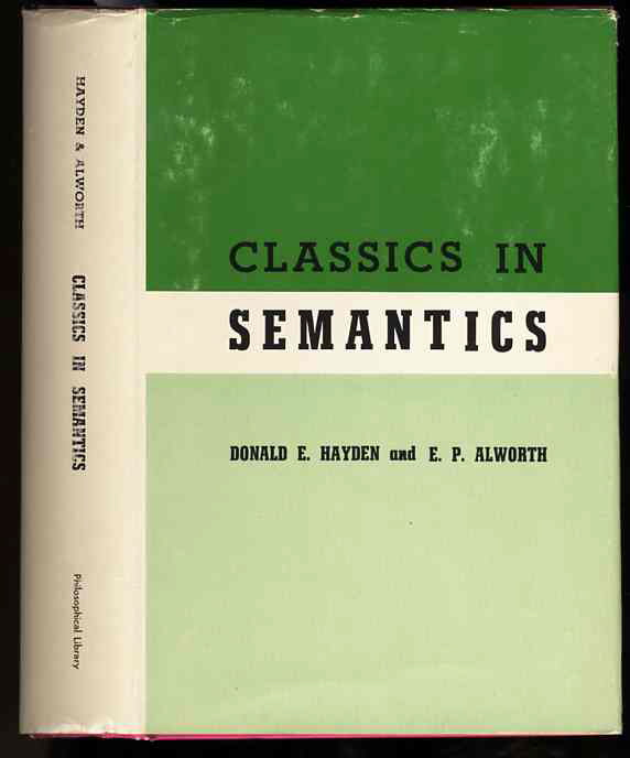 Image for CLASSICS IN SEMANTICS