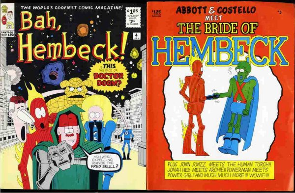 Image for BAH, HEMBECK! : ABBOTT AND COSTELLO MEET THE BRIDE OF HEMBECK Dec #3 1980, Jan #4 1981