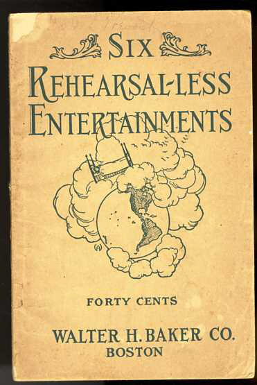 Image for SIX REHEARSAL-LESS ENTERTAINMENTS