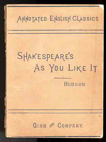 Image for ANNOTATED ENGLISH CLASSICS; SHAKESPEARE'S AS YOU LIKE IT