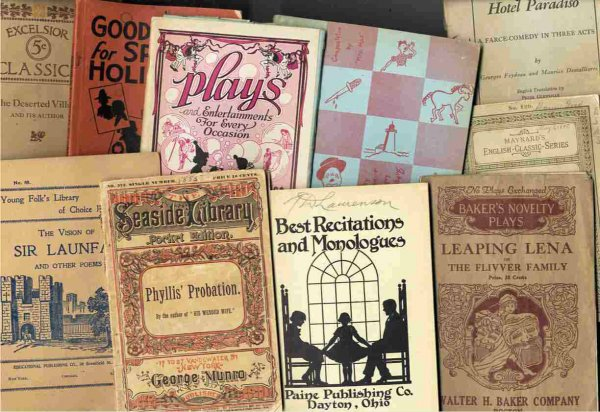 Image for LOT OF PLAYS MAINLY FOR YOUNGSTERS 10 PIECES 1885-1957