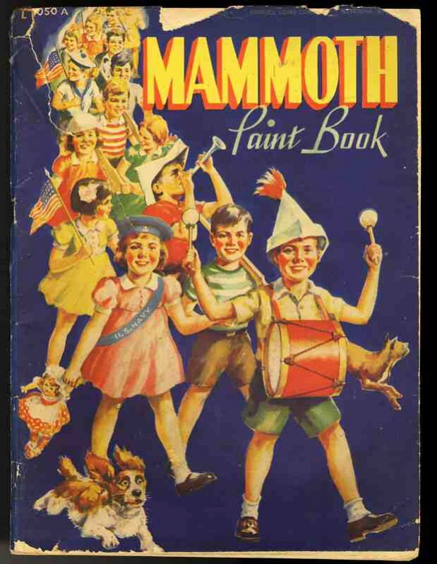 Image for MAMMOTH PAINT BOOK