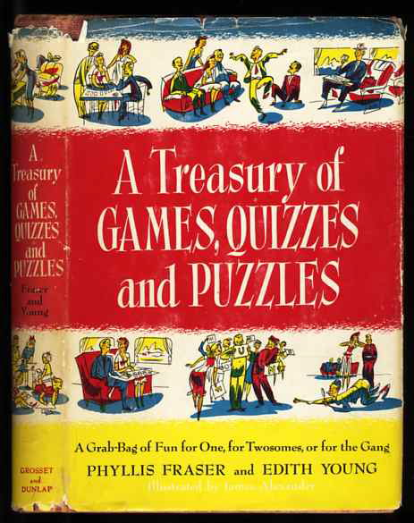Image for A TREASURY OF GAMES, QUIZZES, AND PUZZLES