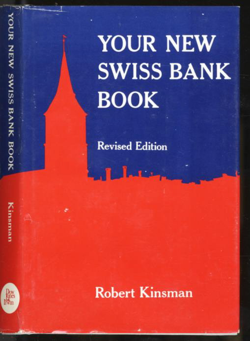 Image for YOUR NEW SWISS BANK BOOK