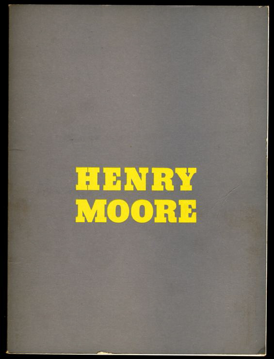 Image for HENRY MOORE.