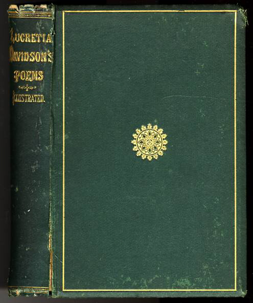 Image for POEMS BY LUCRETIA MARIA DAVIDSON