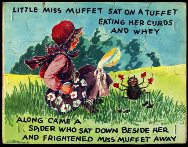 Image for TWO CHILDREN'S PUZZLES; FARM ANIMALS, LITTLE MISS MUFFET