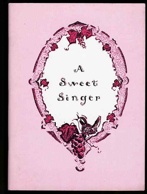 Image for A SWEET SINGER