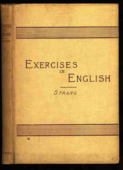 Image for EXERCISES IN ENGLISH