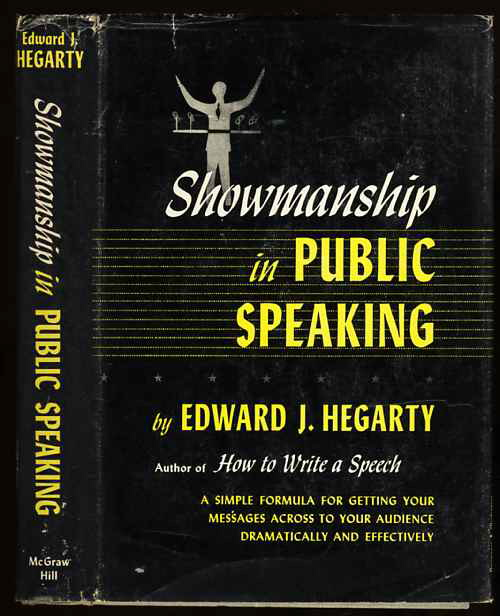 Image for SHOWMANSHIP IN PUBLIC SPEAKING