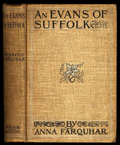 Image for AN EVANS OF SUFFOLK