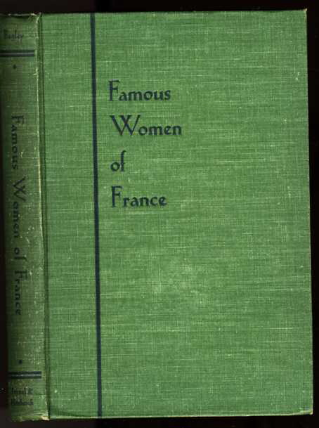 Image for FAMOUS WOMEN OF FRANCE
