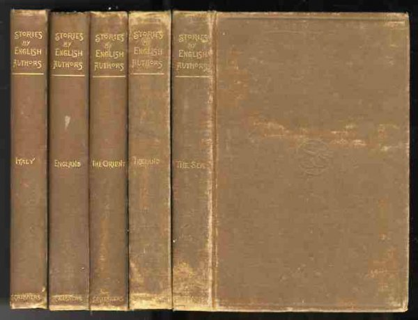 Image for STORIES BY ENGLISH AUTHORS 5 VOLUMES Italy, England, the Orient, the Sea, Ireland