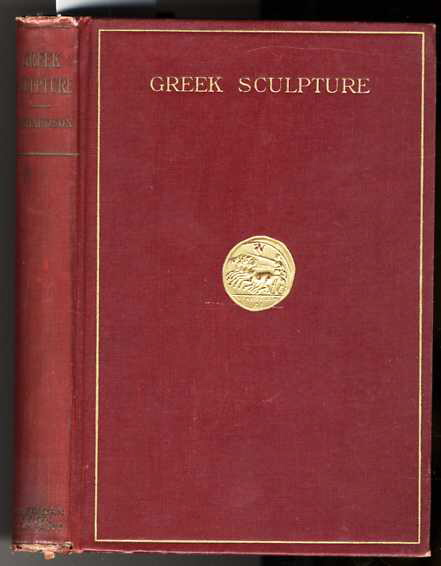 Image for A HISTORY OF GREEK SCULPTURE