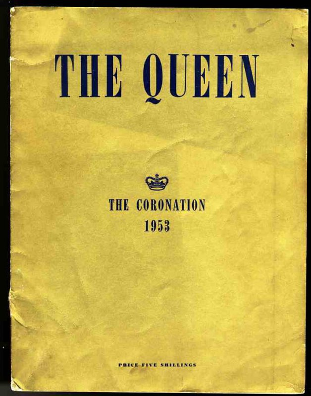Image for THE QUEEN THE CORONATION 1953