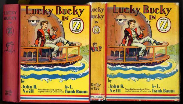 Image for LUCKY BUCKY IN OZ